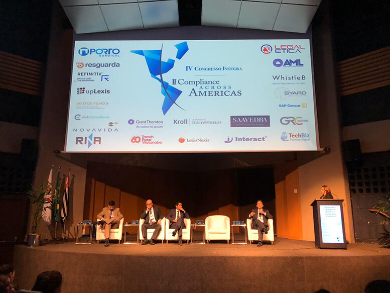 Compliance Across Americas patrocinado pela AML